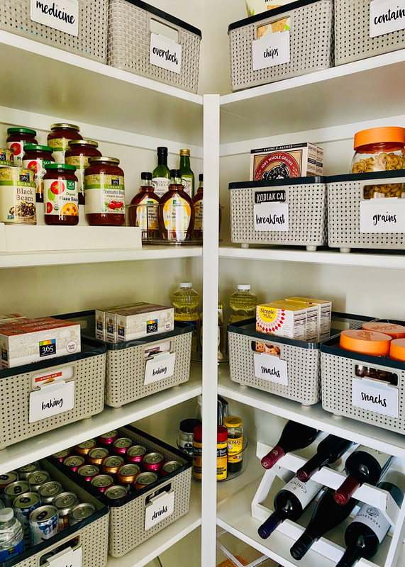 Pantry Organization in Portland Oregon